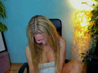Webcamsex met BlondeSuri